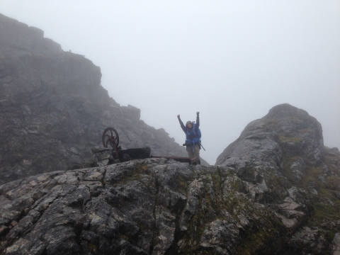 Chilkoot trail summit