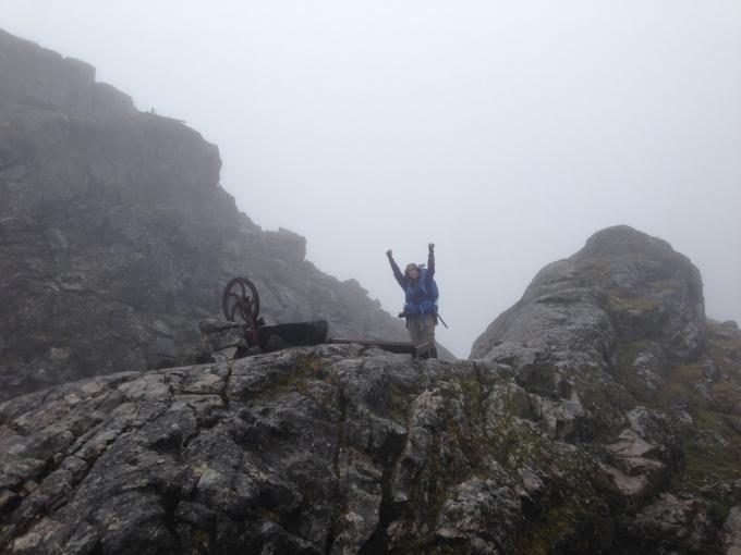 Chilkoot trail summit